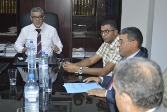 متابعة المشاريع القطاعية و الجهوية بولاية سيدي بوزيد