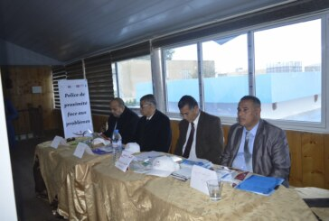 والي سيدي بوزيد يشرف على فعاليات يوم مفتوح للتّعريف بشرطة الجوار