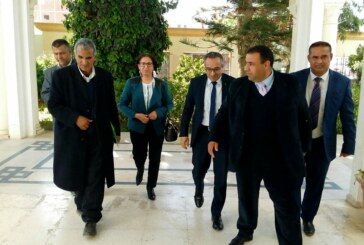 كاتب الدّولة لدى وزير التّعليم العالي و البحث العلمي يؤدّي زيارة إلى ولاية سيدي بوزيد