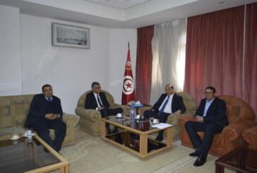 والي سيدي بوزيد يستقبل سعادة سفير دولة ألمانيا بتونس و العميد شوقي الطبيب رئيس الهيئة الوطنية لمكافحة الفساد