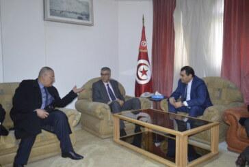 الرّئيس المدير العام للشّركة التّونسية للكهرباء و الغاز في زيارة إلى ولاية سيدي بوزيد
