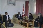 والي سيدي بوزيد يستقبل ممثّلي كلّ من جمعيةتعاونية التّنمية بالبلدان النّاشئة و التّعاونية الأوروبّية للتّجديد و الاقتصاد الاجتماعي