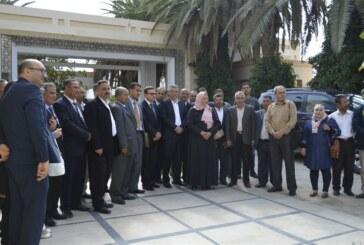 السّيد أحمد عظّوم وزير الشؤون الدّينية في زيارة إلى ولاية سيدي بوزيد