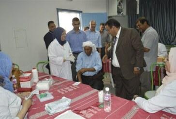 السّيد منصف شلاغمية يشرف على تنظيم الشّباك الموحّد لإجراءات السفر الخاصّبة بحجّاج ولاية سيدي بوزيد