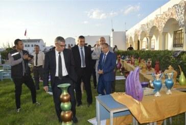 السّيد أنيس ضيف الله يشرف على حفل اختتام السّنة التربوية الإصلاحية 2018/2017 بمركز إصلاح الأطفال الجانحين بالسّوق الجديد