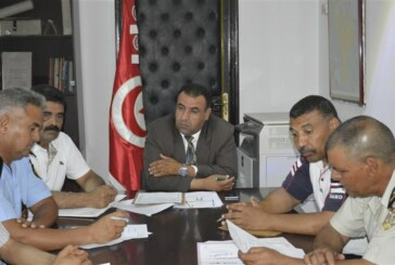 السّيد منصف شلاغمية يشرف على جلسة عمل حول الإستعداد لتنظيم فعاليات المهرجان الصّيفي بسيدي بوزيد
