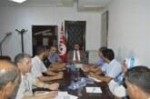 السّيد منصف شلاغمية يشرف على جلسة حول الإستعداد لتظيم الدّورة 25 لمهرجان الولي الصّالح سيدي علي بن عون