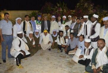 السّيد أنيس ضيف الله يشرف على تكريم الوفدين الشّقيقين الجزائري و اللّيبي في اختتام الدّورة 25 للمهرجان الدّولي للولي الصّالح سيدي علي بن عون