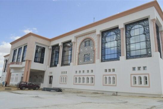 وفد عن وزارة الدّاخلية يعاين مدى تقدّم إنجاز المقر الجديد لولاية سيدي بوزيد