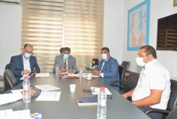 جلسة عمل بمقر الشركة التونسية للكهرباء والغاز