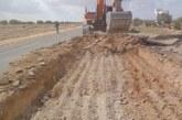 إنطلاق أشغال صيانة أجزاء الطريق الوطنية 14 بولاية سيدي بوزيد