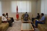 """جلسة عمل مع رئيس مشروع تطوير الاقتصاد الاجتماعي والتضامني وخلق مواطن العمل اللائق للشباب في تونس """"ESS'JEUN"""""""
